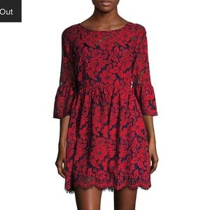 NWT Plenty by Tracy Reese Lace ALine Lace Dress 12